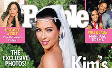What do you think of Kim Kardashian's wedding dress?