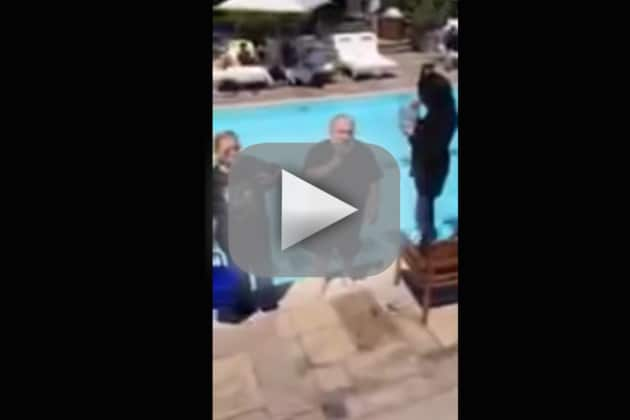 George R.R. Martin Takes Ice Bucket Challenge