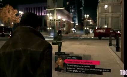 Watch Dogs Trailer: Aisha Tyler, Taking Out the Garbage