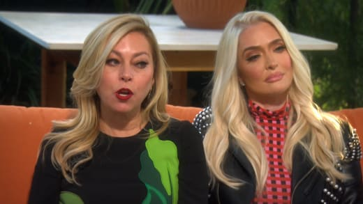 Sutton Stracke Sits with Erika Jayne