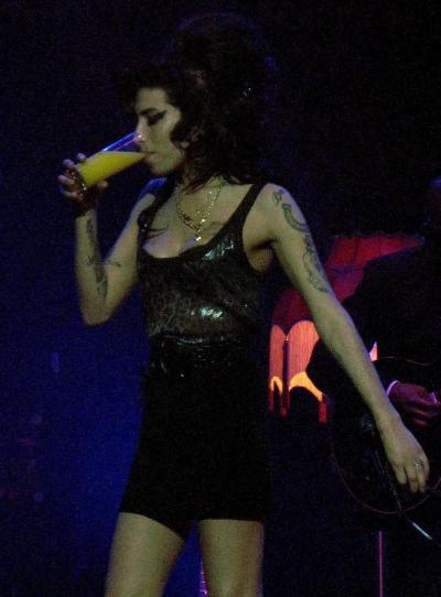 Drunk Amy Winehouse