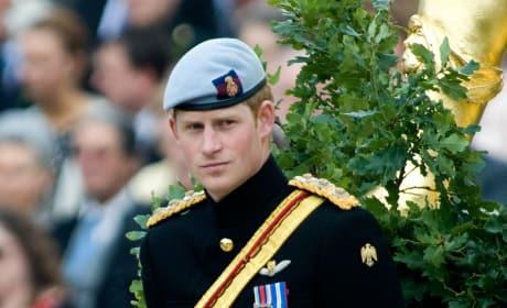 Harry in Uniform