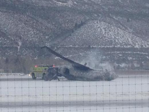 Aspen Plane Crash Pic