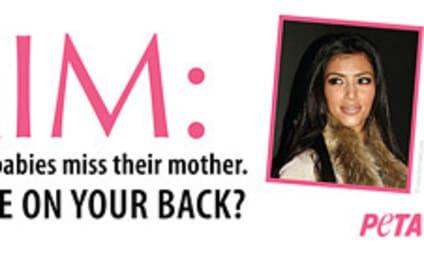 PETA Kalls Out Fur-Klad Kim Kardashian