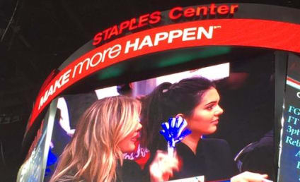 Khloe Kardashian and Kendall Jenner: Booed at Clippers Game!