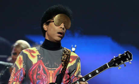 Prince at iHeartRadio Music Festival