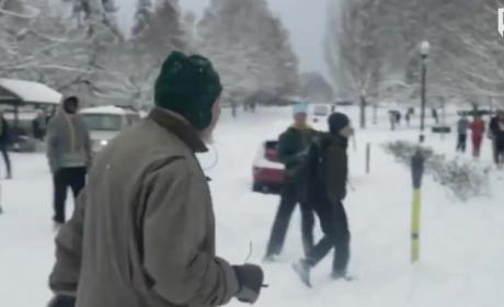 Oregon Students to Be Charged Over Snowball Attack?