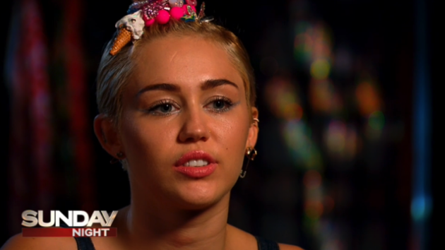 Miley Cyrus Interview Pic
