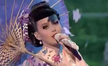 Was Katy Perry's AMA performance offensive?