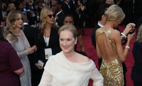 Meryl Streep at the Academy Awards