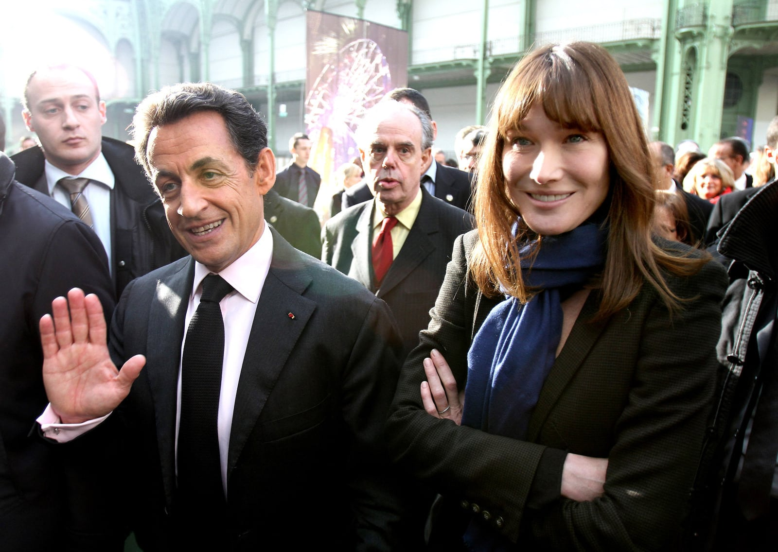 Carla Bruni and Nicolas Sarkozy became parents 15.10.2011 36