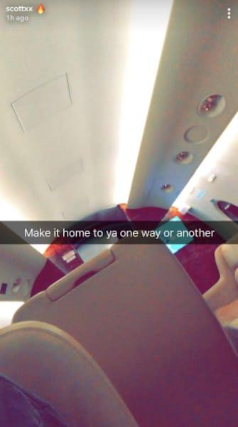 Travis Scott Snapchat