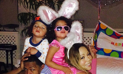 Mariah Carey and Nick Cannon Celebrate Easter with Dem Babies