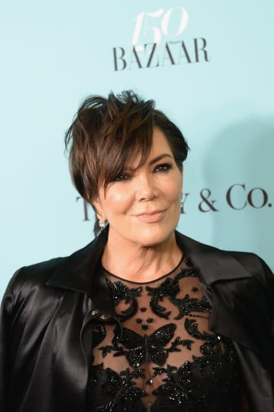 Kris Jenner with the Bad Hair