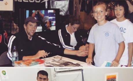 Michael Phelps Katie Ledecky Pic