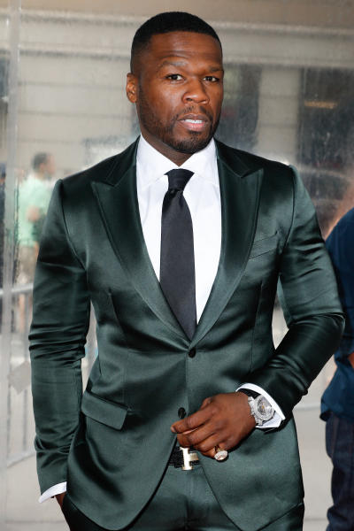 50 Cent at Southpaw Premiere