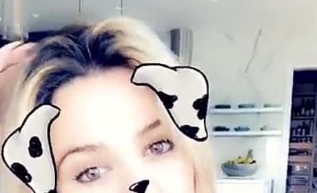 Khloe as a Cow