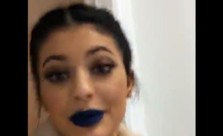 Kylie Jenner Does Caitlyn Jenner's Makeup