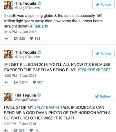 Tila Crazy Tweets
