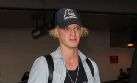 Cody Simpson Lands at LAX