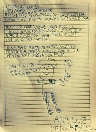 David Luiz Fan Letter