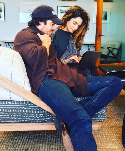Ian and Nikki at Home