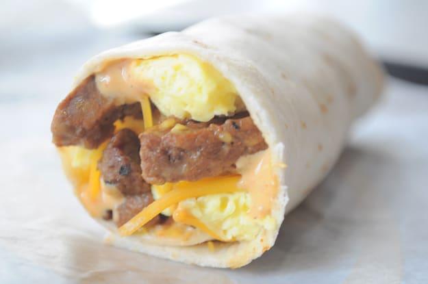 Taco Bell Breakfast Burrito