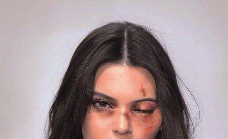 Kendall Jenner: Domestic Violence Campaign Pic