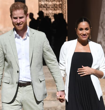 Meghan Markle and Prince Harry, Hand in Hand