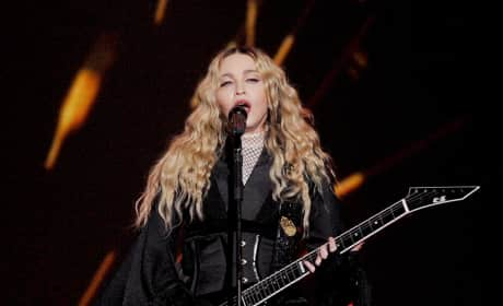 Madonna Performs In Turin, Italy