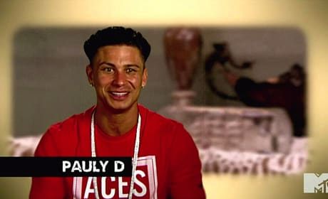 Pauly D on Jersey Shore