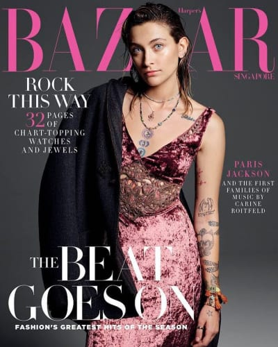 Paris Jackson for Harper's Bazaar Singapore