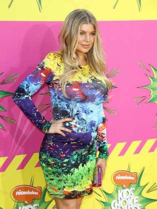 Fergie Kids Choice Awards Photo