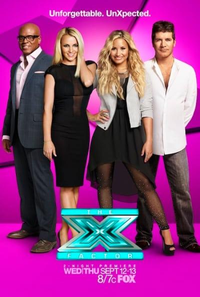 X Factor Season 2 Poster