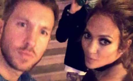 Calvin Harris, Jennifer Lopez Dance At Her Birthday Party