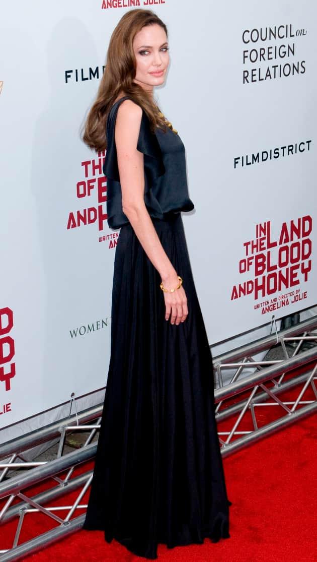 Thin Angelina Jolie