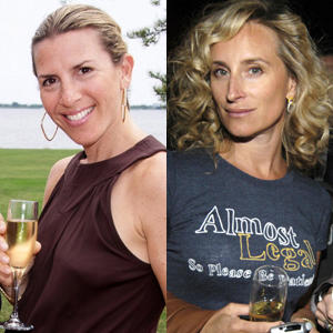 Sonja Morgan and Jennifer Gilbert