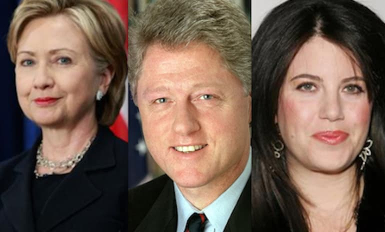 Image result for Clinton and Lewinsky