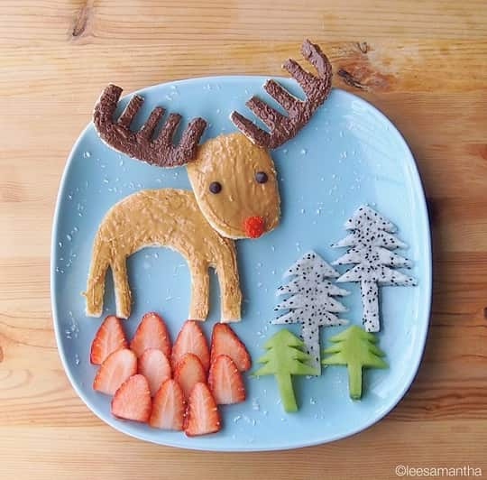A Holiday-Themed Plate