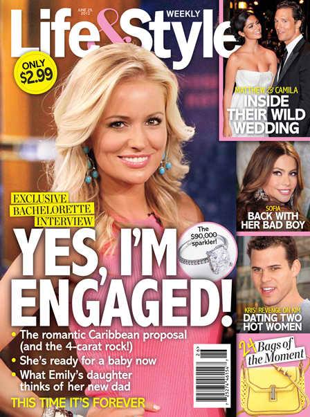 Emily Maynard Life & Style Cover