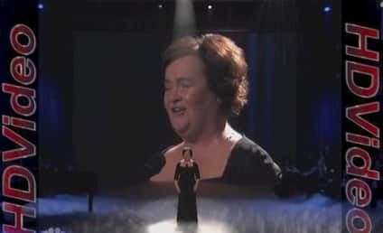 Susan Boyle Performs on America's Got Talent