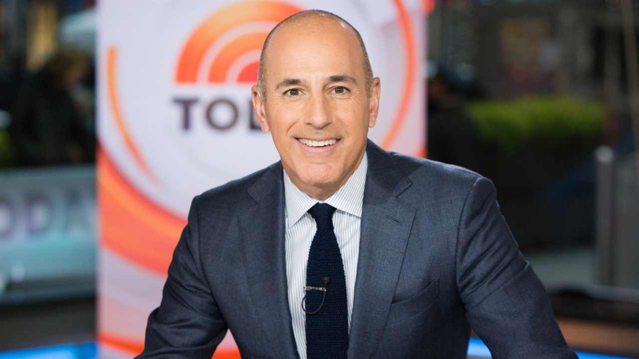 A Timeline of Matt Lauer and Katie Courics Today Show Relationship