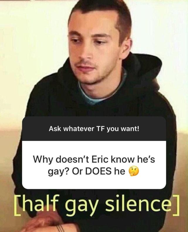 ¿De verdad cree que él es gay?