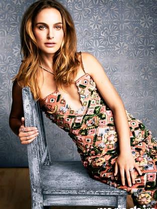 Natalie Portman Marie Claire Photo