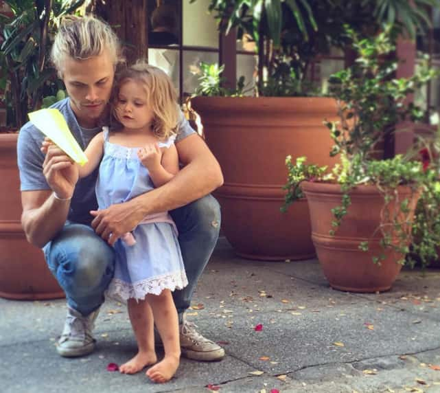 Christopher Mason and Daughter