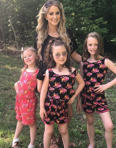 Leah Messer and Her Daughters