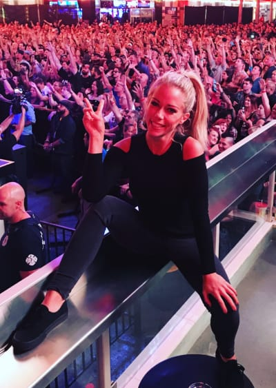 Kendra Wilkinson Having Fun