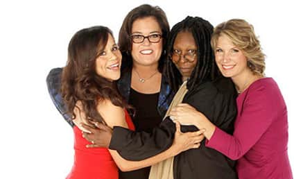 Rosie O'Donnell FLIPS OUT on Whoopi Goldberg In Front of The View Studio Audience!
