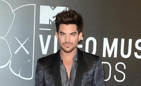 Adam Lambert at the VMAs