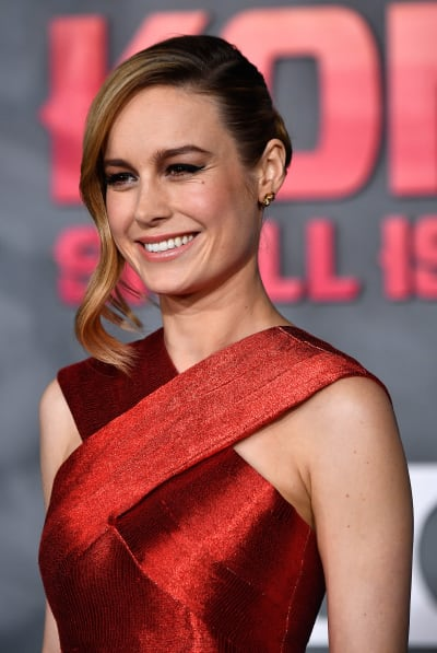 Brie Larson at Movie Premiere